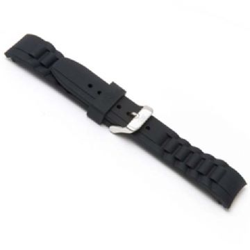 Black Silicone Watch Strap to Fit Ice Watches